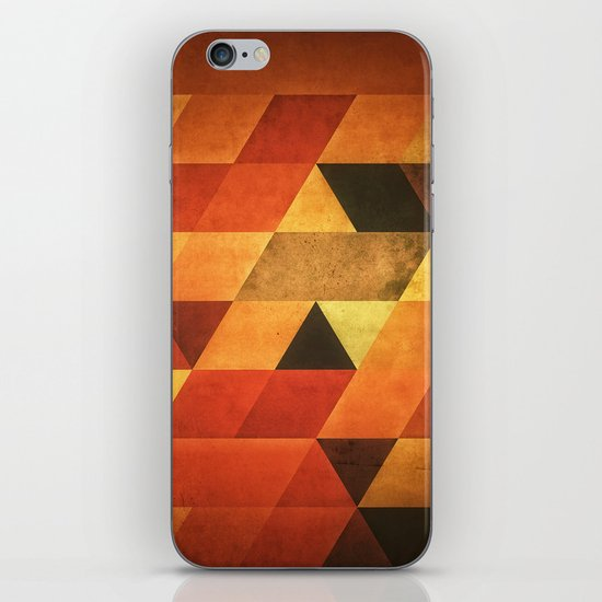 Dyyp Ymbyr iPhone & iPod Skin