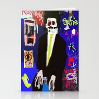 basquiat Stationery Cards featuring My Basquiat by Robert Morris