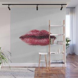 Sexy lips Wall Mural