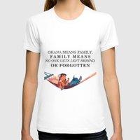 ohana T-shirts featuring Ohana by Dani Aviles