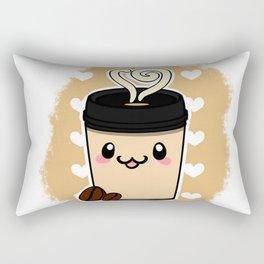 Coffee Cute Rectangular Pillow