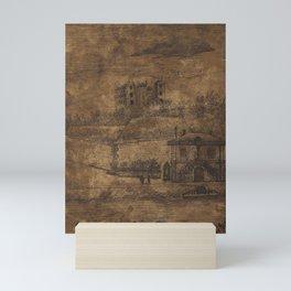 Mess Downstream, the Auteuil Quai (1885) by Henri Rousseau. Mini Art Print
