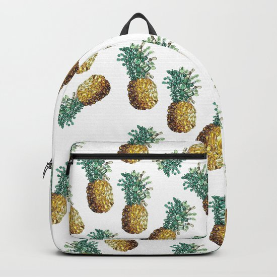 Pineapple by gems Backpack