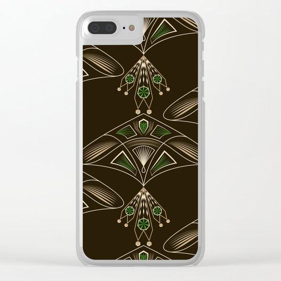 Art Deco. №1 Clear iPhone Case