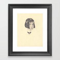 wip Mathilda  Framed Art Print