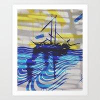 Sail Forward Art Print