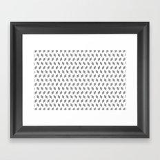 rhombus bomb in alloy Framed Art Print