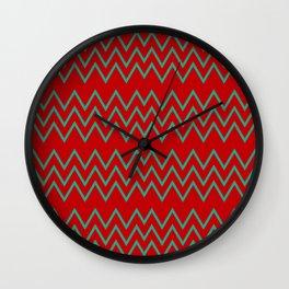 Shevron QW Wall Clock
