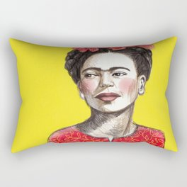 Frida Chinese New Year Rectangular Pillow