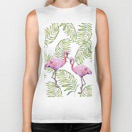 Flamingo  #society6 #buyart Biker Tank