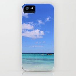 blue. iPhone Case