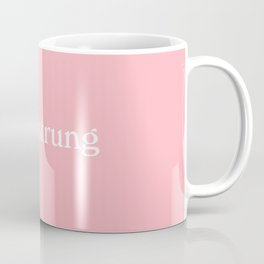 high-strung woman Coffee Mug
