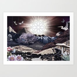 CREATURE OF THE UNIVERSE Art Print