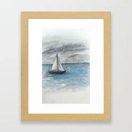 Beyond the Horizon Framed Art Print