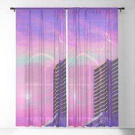 Splendor City Sheer Curtain