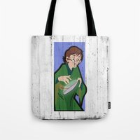 dungeons and dragons Tote Bags featuring DUNGEONS & DRAGONS - PRESTO by Zorio