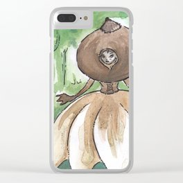 Empire of Mushrooms: Geastrum minimum Clear iPhone Case