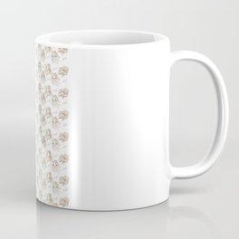 Hey pattern with girls Coffee Mug