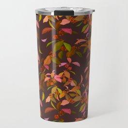 Beautyberry on Purple Travel Mug