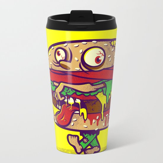 ZOMBURGER Metal Travel Mug
