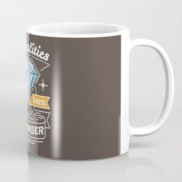 Personalities are Born in September Coffee Mug