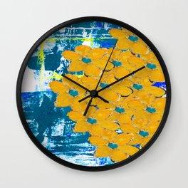 WATERWAYS FLORAL Wall Clock