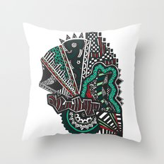 Delinquency  Throw Pillow