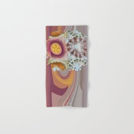 Tacheometry Natural Flower  ID:16165-065451-00761 Hand & Bath Towel