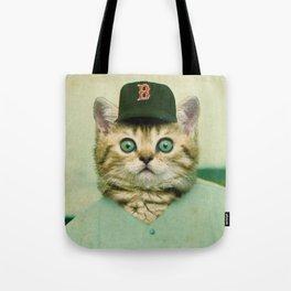 Baseball Kitten #3 Tote Bag