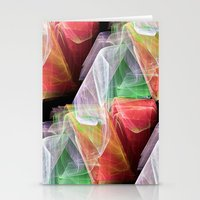 transparent Stationery Cards featuring Transparent Layers by Sartoris ART