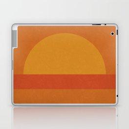 Retro Geometric Sunset Laptop & iPad Skin