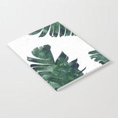 Banana Leaf Watercolor Pattern #society6 Notebook