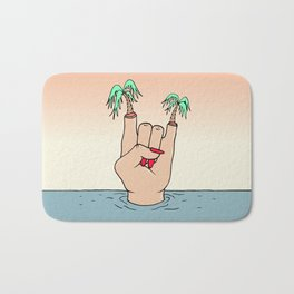 ROCK THE BEACH Bath Mat