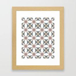 Crêperie Framed Art Print