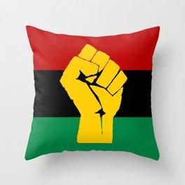 Pan African Flag Throw Pillow