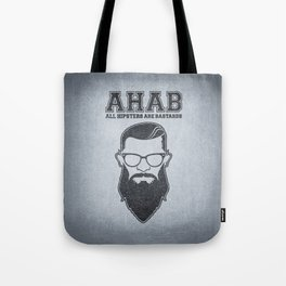 ALL HIPSTERS ARE BASTARDS - Funny (A.C.A.B) Parody Tote Bag