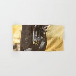 Buddha Hand Illustration Hand & Bath Towel