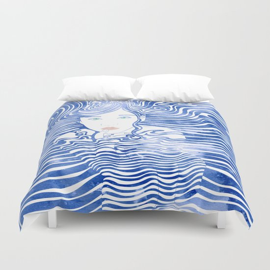 Water Nymph XLIII Duvet Cover