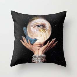 LOST ME Throw Pillow