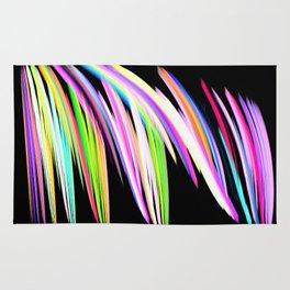 Rainbow Crayon Scribble Rug