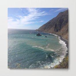 Amazing Ocean View Metal Print