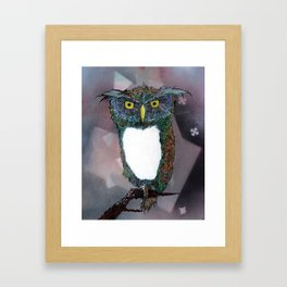Whooter Framed Art Print