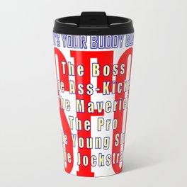 SFO Who's Your Buddy Guard Travel Mug