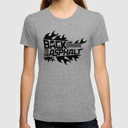 Back to the Asphalt - black T-shirt