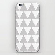 Grey Triangle /// www.pencilmeinstationery.com iPhone & iPod Skin
