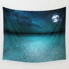 Night Swimming Wall Tapestry