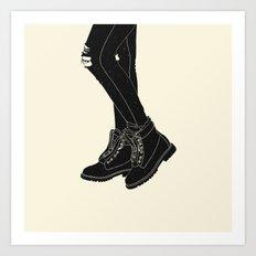 Time is Dancing Art Print