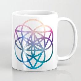 Sacred Geometry Universe Coffee Mug