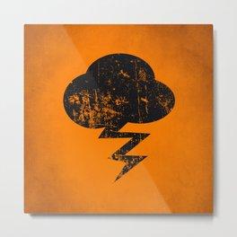 Cloud and Storm Metal Print