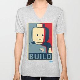 BUILD Unisex V-Neck